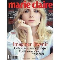 MARIE CLAIRE n°814 juin-juillet 2020  Mélanie Laurent/ Imaginer l'avenir/ Le tabou de la ménopause/ Mode d'été/ Bien dans son corps