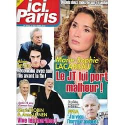 ICI PARIS n°3948 03/03/2021  Marie-Sophie Lacarrau/ Alain Delon/ Muriel Robin/ PPDA/ Serge Gainsbourg/ Angelina Jolie/ Pio Marmaï