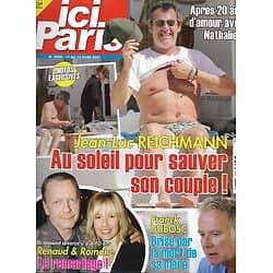 ICI PARIS n°3950 17/03/2021  Jean-Luc Reichmann/ Renaud/ Franck Dubosc/ Patrick Dupond/ Liz Taylor/ Audrey Hepburn