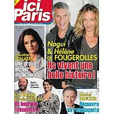 ICI PARIS n°3952 31/03/2021  Nagui & Hélène de Fougerolles/ Faustine Bollaert/ Michel Drucker/ Kad Merad & Julia Vignali/ Bertrand Tavernier/ Harrison Ford