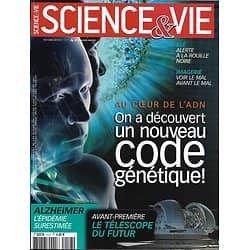 SCIENCE&VIE n°1117 octobre 2010  Un nouveau Code génétique-ADN/ Alzheimer/ Blé/ Télescope E-ELT