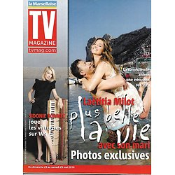 TV MAGAZINE n°20468 22/05/2010  Laetitia Milot/ Sidonie Bonnec/ Lizarazu/ Tsonga/ Miss France