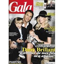 GALA n°1007 26/09/2012  Dany Brillant/ Pierre Mondy/ Kate & William/ Cyril Lignac/ Omar Sy