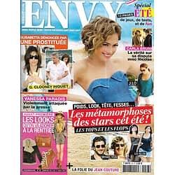 ENVY n°26 05/08/2010  Les Métamorphoses de l'été/ Jennifer Lopez/ Olivia Ruiz/ Bob Sinclar/ Looks de rentrée