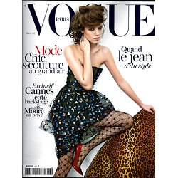 VOGUE n°937 mai 2013  Freja Beha/ ModeChic&couture/ Cannes/ J.Moore/ R.Hell