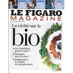 LE FIGARO MAGAZINE n°21323 22/02/2013  La vérité sur le bio/ Ile de Sumba/ Opale en Australie/ Méheut/ Cécile de France