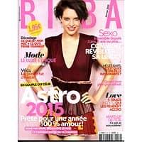 BIBA N°419 JANVIER 2015  ASTRO 2015/ LIBIDO/ LUXE ETHIQUE/ NOTHOMB
