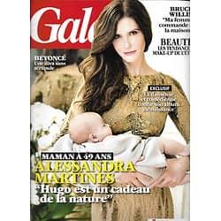 GALA n°1028 20/02/2013  Alessandra Martinez/ Bruce Willis/ Beyonce/ Julia Faure/ Alice Pol