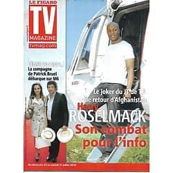 TV MAGAZINE n°20521 24/07/2010  Harry Roselmack/ Céline Bosquet/ Wenworth Miller/ Jack Lang