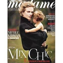MADAME FIGARO n°21211 12/10/2012  Nicole Kidman/ Mélanie Laurent/ Daniel Craig/ Amanda Sthers