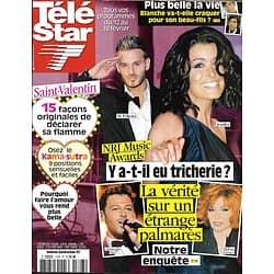 TELE STAR n°1793 12/02/2011  NRJ Music Awards-Jenifer-Pokora/ Natalie Portman/ Nicole Kidman & Penélope Cruz