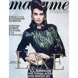 MADAME FIGARO n°21229 02/11/2012  Spécial luxe et surréalisme/ Daphne Guinness/ Todd Selby/ Psys à prix d'or