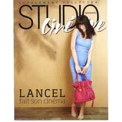 "STUDIO CINE LIVE SUP. n°6 juillet 2009 ""LANCEL FAIT SON CINEMA"""