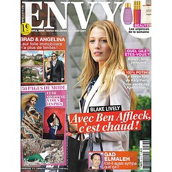 ENVY n°33 27/09/2010  Blake Lively/ Brad Pitt & Angelina Jolie/ Spécial Mode/ Mathilda May