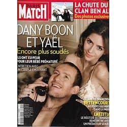 PARIS MATCH n°3219 27/01/2011  Dany Boon/ Chute Clan Ben Ali/ Bettencourt/ Champions de Ski