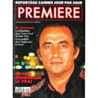 PREMIERE N°159 JUIN 1990  RICHARD BOHRINGER/ DEPARDIEU/ LAMBERT