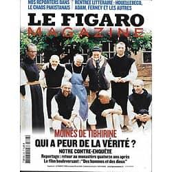 LE FIGARO MAGAZINE n°20551 28/08/2010  Les moines de Tibhirine/ Chaos pakistanais/ Croisière en Ecosse