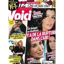 VOICI n°1194 25/09/2010   Ruptures de stars: Jenifer, Marie Drucker, Demi Moore/ Laurent Kerusoré/ Secret Story
