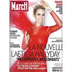 PARIS MATCH n°3324 30/01/2013  Laeticia Hallyday/ François Gabart/ Florence Cassez/ Patrick Swayze/ Zlatan Ibrahimovic