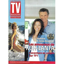 "TV MAGAZINE n°20563 11/09/2010  Denis Brogniart ""Koh-Lanta""/ Natacha Amal/ Miss France"