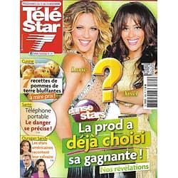 "TELE STAR n°1885 17/11/2012  Lorie & Amel Bent ""DALS""/ Ouragan Sandy/ Kristen Stewart/ Adriana Karembeu"