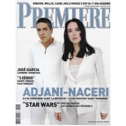 PREMIERE n°302 avril 2002  Adjani & Naceri/ Star Wars/ Miyazaki/ Amodovar/ J.Foster