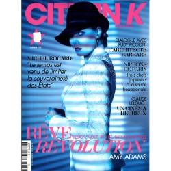 CITIZEN K n°65 hiver 2013-2013  AMY ADAMS/ LELOUCH/ ROCARD