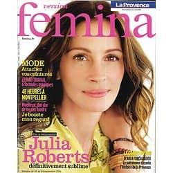 VERSION FEMINA n°442 20/09/2010  Julia Roberts/ 48h à Montpellier/ Ana Girardot/ Zen au travail
