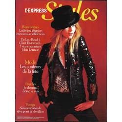 L'EXPRESS STYLES n°3100 01/12/2010  Mode fêtes/ Sagnier/ Lennon/ Escapades