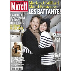 PARIS MATCH n°3213 16/12/2010  Cotillard & Fontenoy/ Kate & William/ Henri IV/ Marseille & la drogue
