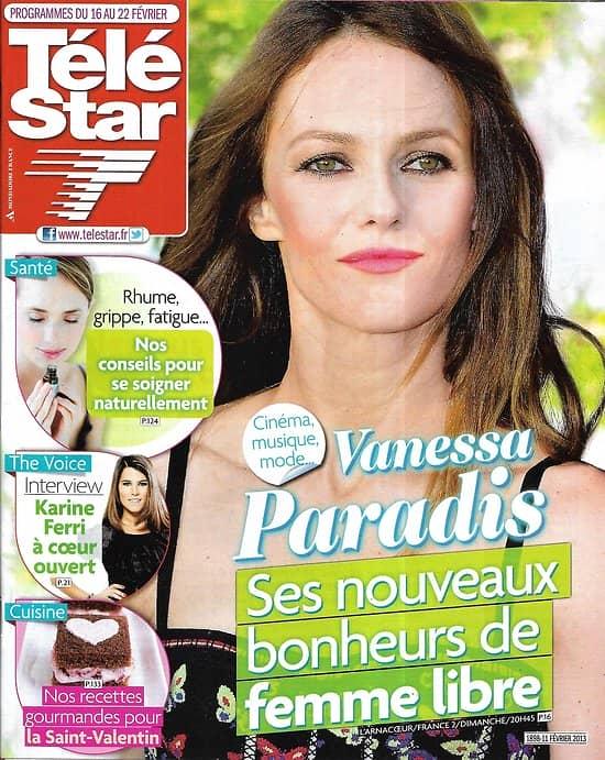 TELE STAR n°1898 16/02/2013  Vanessa Paradis/ Karine Ferri/ Hugh Jackman/ Yoga/ Marine Delterme