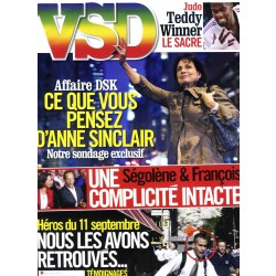VSD N°1775 1er septembre 2011 SINCLAIR/ 11 SEPTEMBRE/ RINER