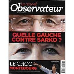 LE NOUVEL OBSERVATEUR n°2449 13/10/2011 Primaire gauche: PS/ Etudes supérieures/ Hulot vs Bruckner