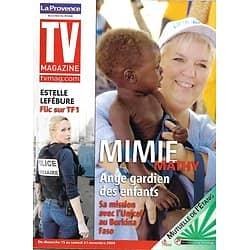 TV MAGAZINE n°1189 14/11/2009 Mimie Mathy/ Estelle Lefébure/ Miss France/ Chazel