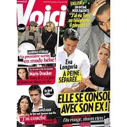 VOICI n°1203 27/11/2010  Eva Longoria & Tony Parker/ Laurence Ferrari/ Colin Farrell/ Marie Drucker/ Enrique Iglesias