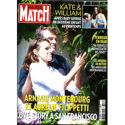 PARIS MATCH N°3408 11 SEPTEMBRE 2014  MONTEBOURG&FILIPETTI/ KATE&WILLIAM/ IRAK