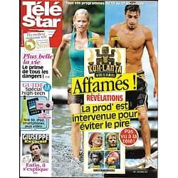 TELE STAR n°1784 06/12/2010   Koh-Lanta: affamés!/ Dave/ Mylène Farmer/ Nolwenn Leroy/ Katherine Heigl