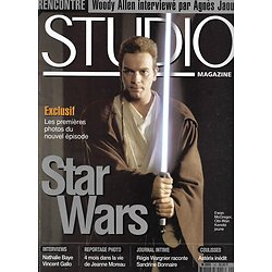 "STUDIO n°142 février 1999  ""Star Wars Episode I""/ Jeanne Moreau/ Woody Allen/ Régis Wargnier"