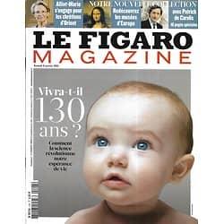 LE FIGARO MAGAZINE n°20663 08/04/2011  Espérance de vie/ Musées d'Europe/ Les Açores/ Haïti, un an après/ Michael Caine/ Madagascar