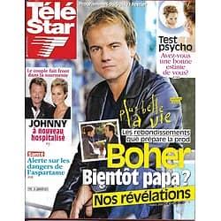 "TELE STAR n°1792 05/02/2011  Stéphane Hénon ""Plus Belle La Vie""/ Johnny Hallyday/ Alain Delon/ Céline Dion"