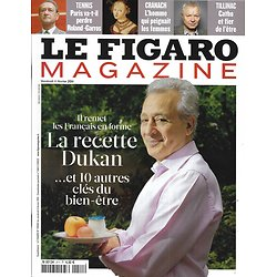 LE FIGARO MAGAZINE n°20692 11/02/2011 Clés du bien-être: recette Dukan/ Cranach/ Sauver les éléphants/ Jeff Bridges/ Serre-Chevalier