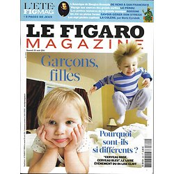 LE FIGARO MAGAZINE n°20854 20/08/11  Garçons-filles: pourquoi sont-ils si différents?/ Mythe de l'eldorado/ Sean Penn/ L'Amérique de Douglas Kennedy