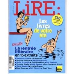 LIRE n°397 juillet-août 2011 LES LIVRES DE VOTRE ETE/ COLETTE/ KORNPROBST