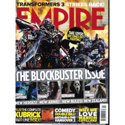 EMPIRE N°262 AVRIL 2011 SPECIAL BLOCKBUSTERS/ KUBRICK/ LOACH/ REYNOLDS