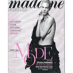 MADAME FIGARO n°21791 29/08/2014  Spécial Mode/ Aymeline Valade/ Charlize Theron/ Nicolas Ghesquiere