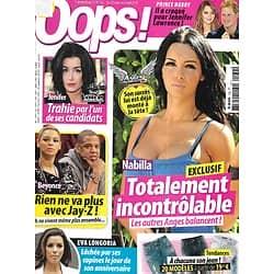 OOPS! n°132 22/03/2013   Nabilla/ Jenifer/ Beyoncé/ Eva Longoria/ Prince Harry/ Famille de stars