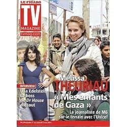 TV MAGAZINE n°20759 30/04/2011 Melissa Theuriau/ Lisa Edelstein/ Anglade, Jampanoï & Lio/ C.Willem