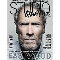 """STUDIO CINE LIVE n°66 février 2014  Clint Eastwood """"American Sniper""""/ Michel Gondry/ La Comédie Frnaçaise/ Affiches cultes revisitées"""