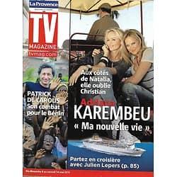 TV MAGAZINE n°20765 07/05/2011 Adriana Karembeu/ Patrick De Carolis/ Adeline Blondieau/ Jean-Marc Barr