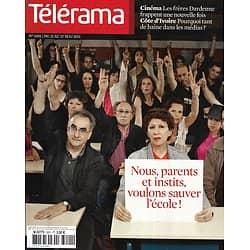 TELERAMA n°3201 21/05/2011  Sauver l'école/ Dardenne/ Médias & Côte d'Ivoire